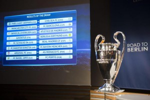 UEFA Champions League draw of the round of 16