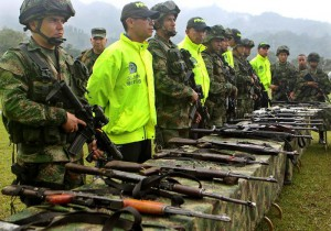 Seven FARC rebels killed in clashes with Colombian military