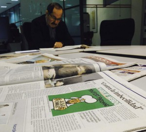 Spanish newspaper publishes cover of the French satirical magazine Charlie Hebdo