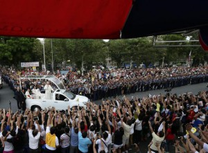 Pope Francis visits the Philippines