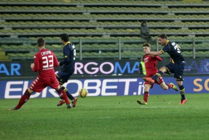 Soccer; Italy Cup eighth finals; Parma-Cagliari