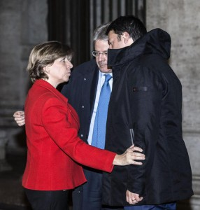 Premier Renzi meets French Ambassador in Italy, Catherine Colonna