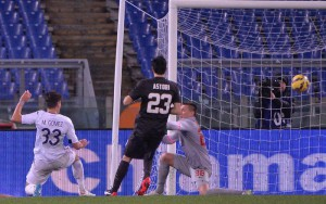 Soccer: Italy's Cup; AS Roma-Acf Fiorentina