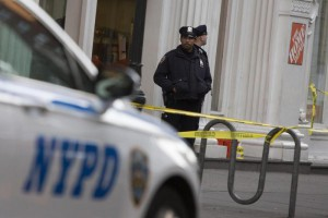 Shooting at Home Depot store in New York