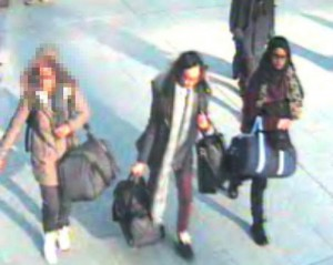 Appeal to trace three teenaged girls believed to have travelled to Syria