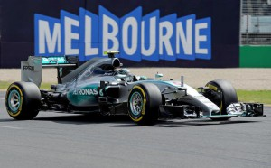 Formula one Grand Prix in Melbourne
