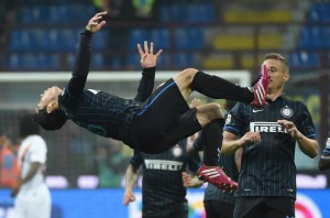 Soccer: serie A, Fc Inter-As Roma