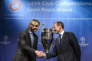 Draw of the semi-finals of UEFA Champions League 2014/15