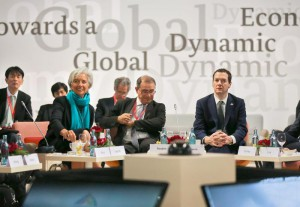 G7 Meeting of Finance Ministers in Dresden