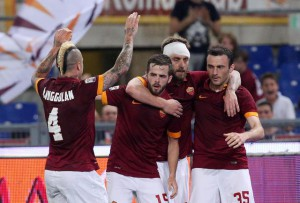Soccer: serie A, Roma-Udinese
