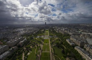 Champs de Mars in Paris