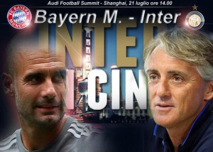 Bayern M.-Inter, Audi Football Summit a Shanghai