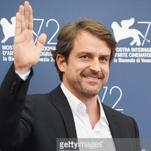 attends a photocall for 'From Afar' during the 72nd Venice Film Festival at Palazzo del Casino on September 10, 2015 in Venice, Italy.