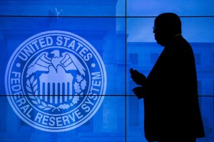 A Federal Reserve security agent prior to Chair of the US Federal Reserve Janet Yellen's press conference at the Federal Reserve in Washington, DC, USA, 16 March 2016.  (FOMC), led by Fed Chair Yellen.  EPA/SHAWN THEW