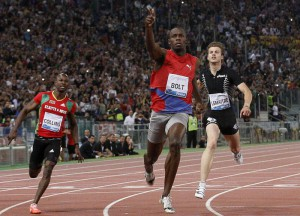"ATLETICA: GOLDEN GALA; BOLT VINCE I 100 IN 9""76"