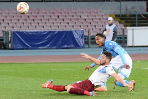 Soccer: Europa League; Napoli-Trabzonspor