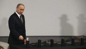 Russian President Vladimir Putin atInternational Holocaust Remembrance Day event in Moscow