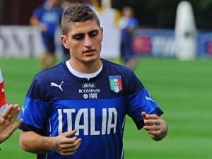 Soccer: Italy's training session