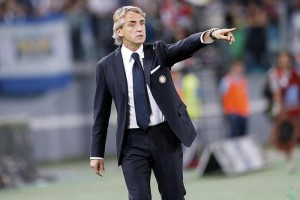 FC Inter's head coach Roberto Mancini