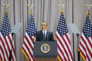 US President Barack Obama delivers a speech on the nuclear deal with Iran