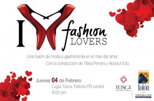 INVITACION FASHION LOVERS FEBRERO 2016