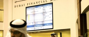 Dubai Financial Market  -  at the Dubai World Trade Center  -  ITP Business Picture by Moustafa Zakaria  -  for Arabian Business English
