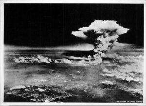 A files handout photograph of the Hiroshima A-bomb blast photographed by the U.S. military on 6 August 1945. EPA/A PEACE MEMORIAL MUSEUMHANDOUT