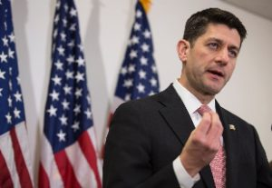 Lo speaker della Camera Paul Ryan