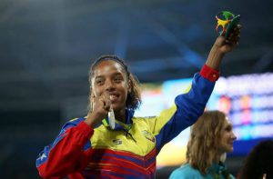 La venezuelana Rojas salta la Diamond League