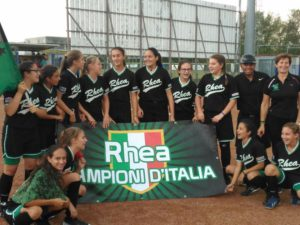 Campionato italiano di softball Under 13: il Caronno di Blanco vince lo scudetto
