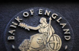 (FILE) A file photo dated 22 January 2014 showing a Bank of England logo,  London, Britain.      ANSA /FACUNDO ARRIZABALAGA