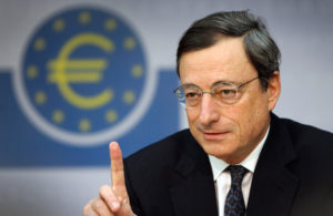 The European Central Bank's new chief Mario Draghi . DANIEL ROLAND/AFP/Getty Images)