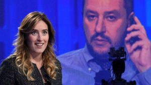 Scintille tra Boschi e Salvini in Tv,