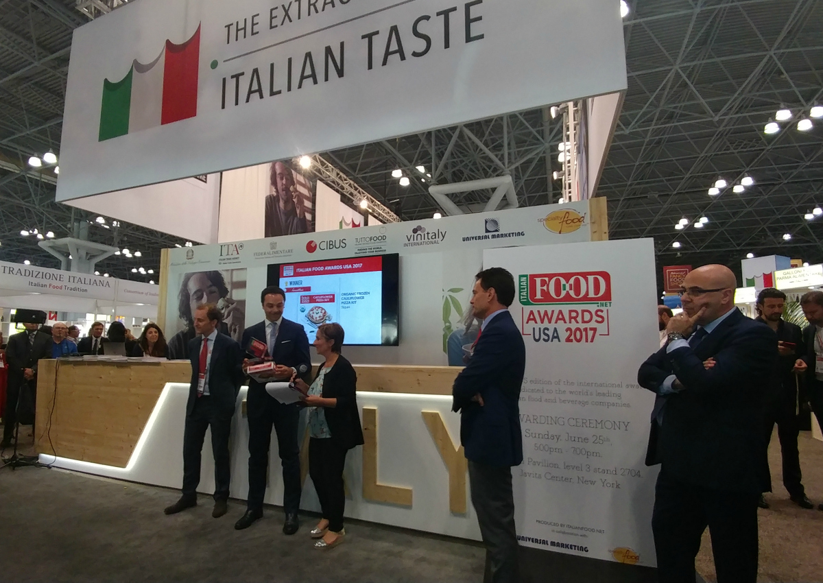 Lo stand di Parma al New York al Summer Fancy Food Show