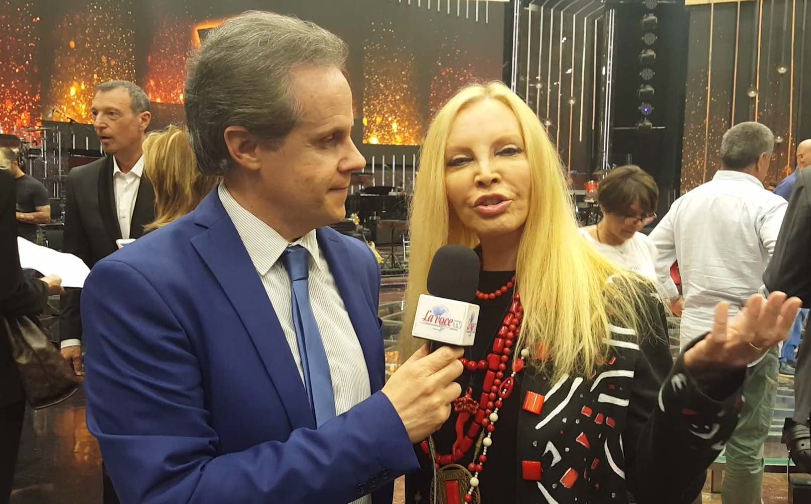 Patty Pravo intervistata da Emilio Buttaro