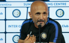 L'allenatore dell'Inter, Luciano Spalletti, in conferenza stampa.