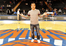 Francesco Totti al Madison Square Garden