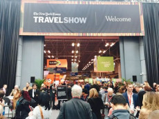 L'ingresso del New York Travel Show.
