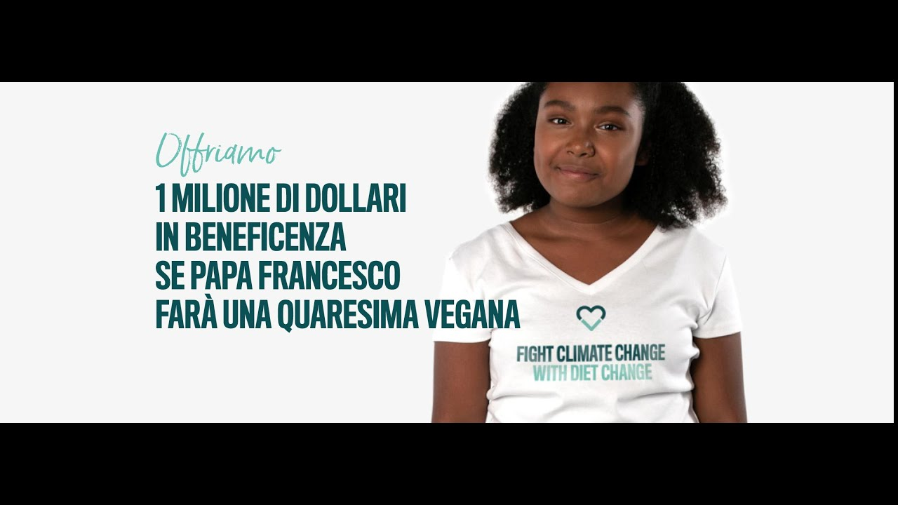 Million Dollar Vegan: campagna per una dieta vegana.