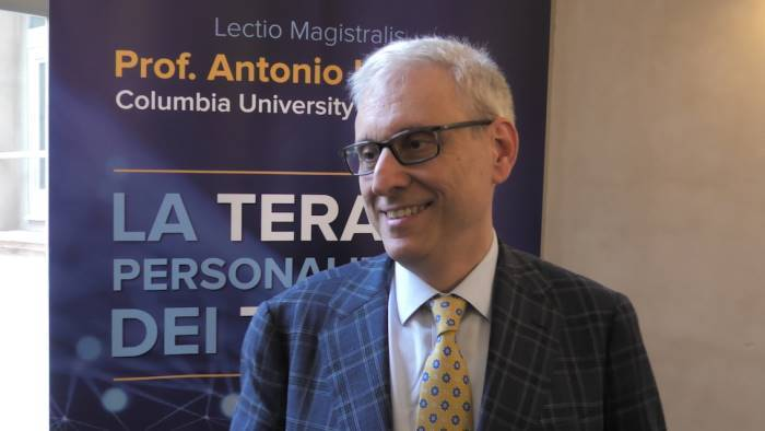 Lo scienziato Antonio Iavarone all'Unisanni