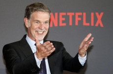 Reed Hastings fondatore e Ceo di Netflix.