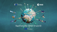 Rapid action coronavirus Earth observation, l'occhio del satellite sulla Fase 3.