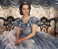 Olivia De Havilland in una foto d'archivio