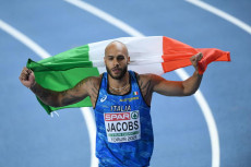 Lamont Marcell Jacobs in una foto d'archivio.